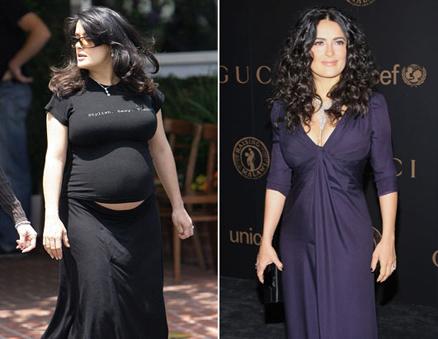 fat Salma gain weight chubby hayek